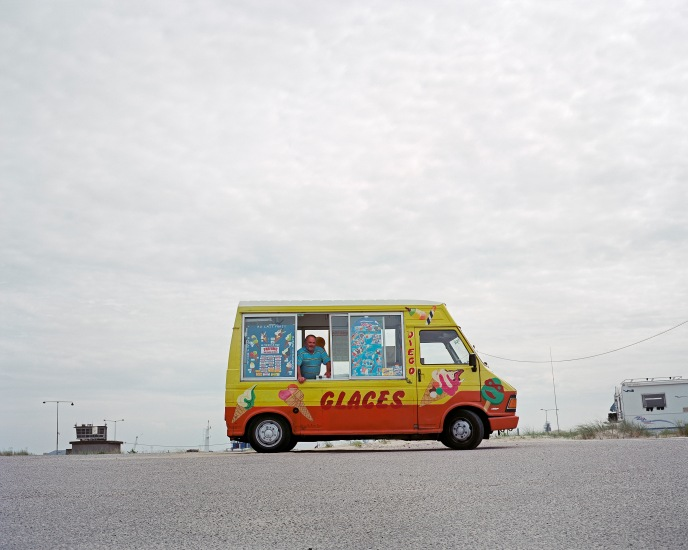 Dunkerque plage - 2° 20' 41 - 51° 03' 38 - Alt 4 m - Crédits Jean-Michel Leligny