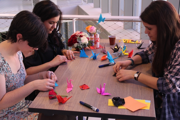 The Origami Lab 2014 -Crédits TEDx Mines Nancy