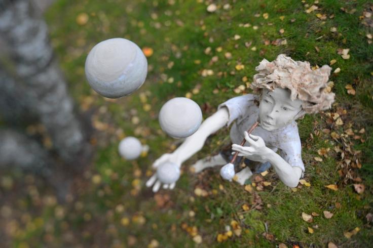 Sculpture de Martine Cassar, invitée d'honneur de l'édition 2015 - Crédits Martine Cassar