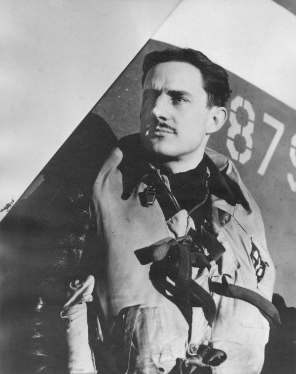 Albert J. Sclegel capitaine 335e escadron de chasse Cleveland OH