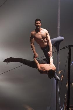 Kevin Gruss - Crédits Cirque Arlette Gruss